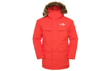 The North Face - Parka Homme McMurdo - Orange